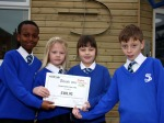 St Joseph's Catholic Primary School in Plymouth received a certificate from CAFOD for raising £401.93 for the CAFOD Emergency Haiti Earthquake: