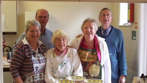Holy Ghost CAFOD Lunch Team October 2012
