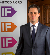 Ed Miliband MP, Leader of the Labour Party, at the launch of the IF campaign 2013 in the State Rooms of Speakers House, Palace of Westminster. London, UK.