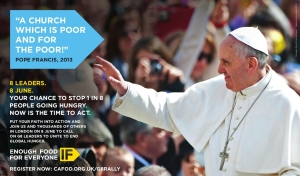 G8 Poster - Pope Francis