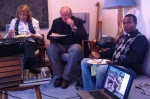 Abba Solomon with memebrs of St.  Augustine's Justice & Peace Group, St Austell
