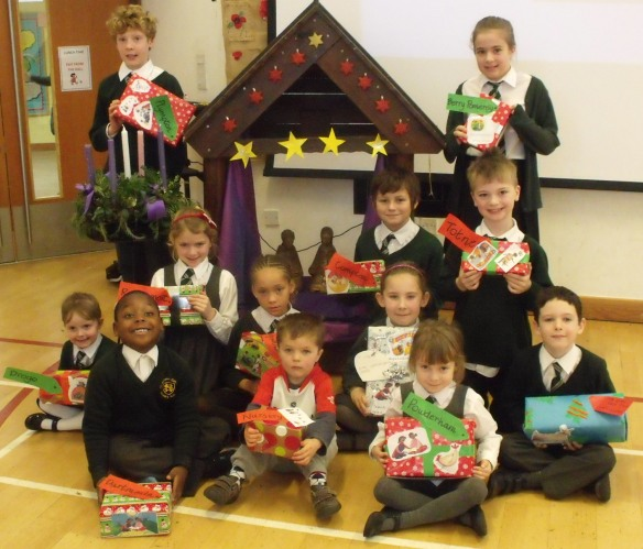 Over £250 worth of World Gifts from St Nicholas School, Exeter.