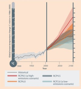 Scientists say with 95 certainty that Climate Change is caused by human activity IPCC fifth assessment report