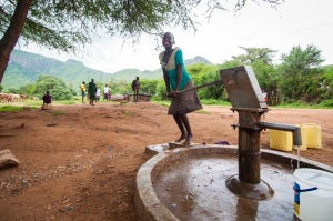 The Lent Appeal will help girls like Proscovia in Uganda have access to clean water.