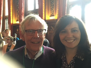 Bernard White and Caroline Flint MP