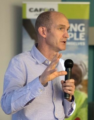 Neil Thorns, CAFOD's Director of Advocacy and Education.
