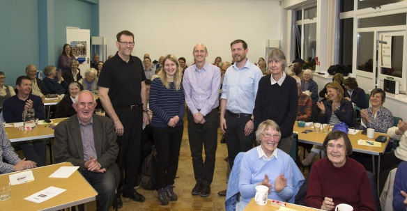 Speakers and attendees at The Refugee Journey – Global, National and Local perspectives - Exeter