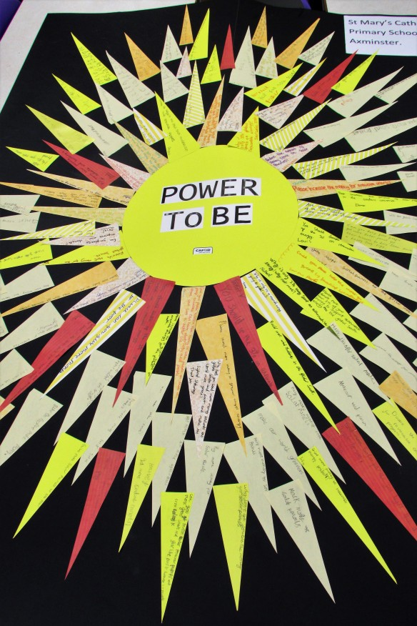 St Marys Power to Be poster