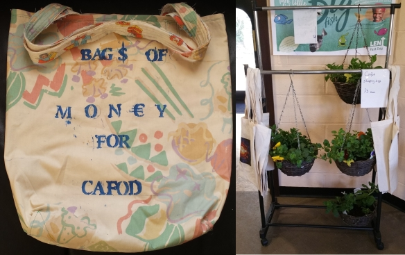 CAFOD Bags and Plants