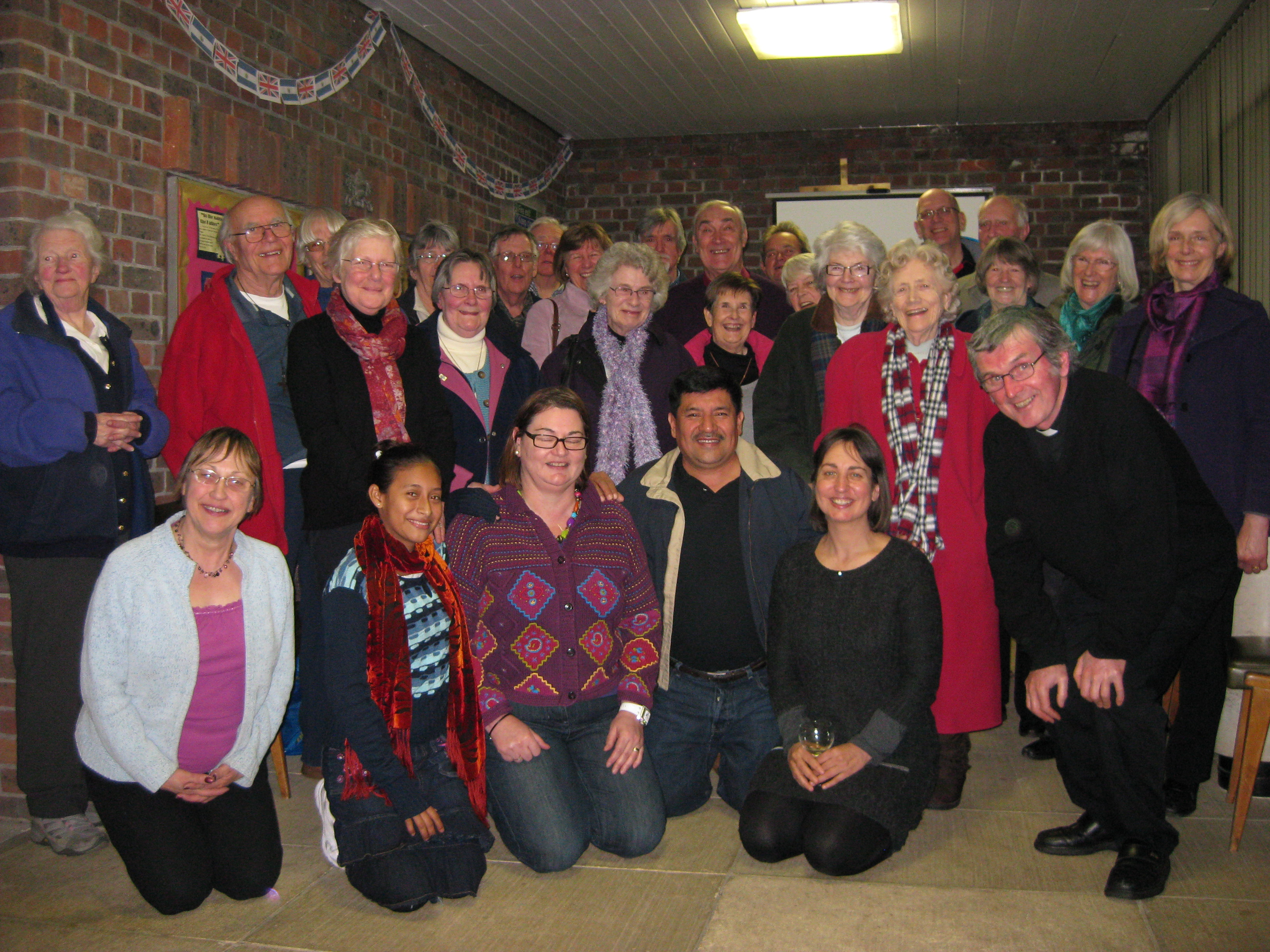 Parish visit from Sandra and Erasmo CAFOD partners from JDS, El Salvador